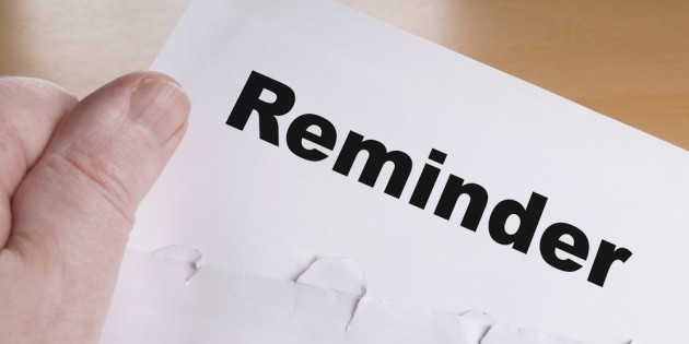 reminder letter for payment singapore